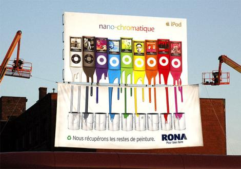 Guerilla werbung und marketing was ist das for Painting and decorating advertising ideas