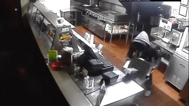 guerilla marketing video einbruch taco