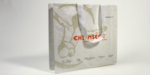 Die exklusiven Woven Taschen sind sehr beliebt für Give-Away Bags an Messen und Events.