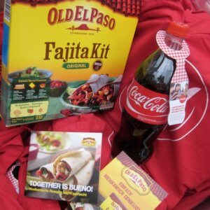 Promotion Agentur Spool - Coca Cola Fajita Kit