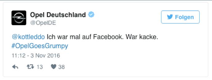 Opel Twitter Kampagne - Trollen im Internet