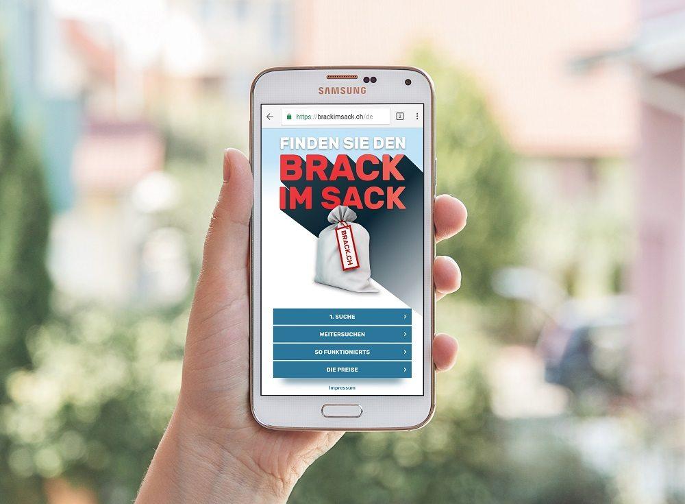 Compresso-BRACK.CH - Brack im Sack fürs Smartphone