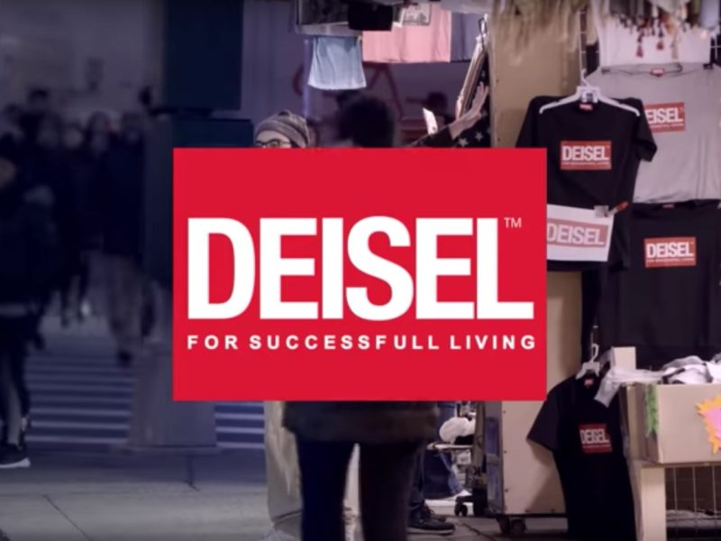 Fakeshop Diesel Guerilla Marketing Aktion