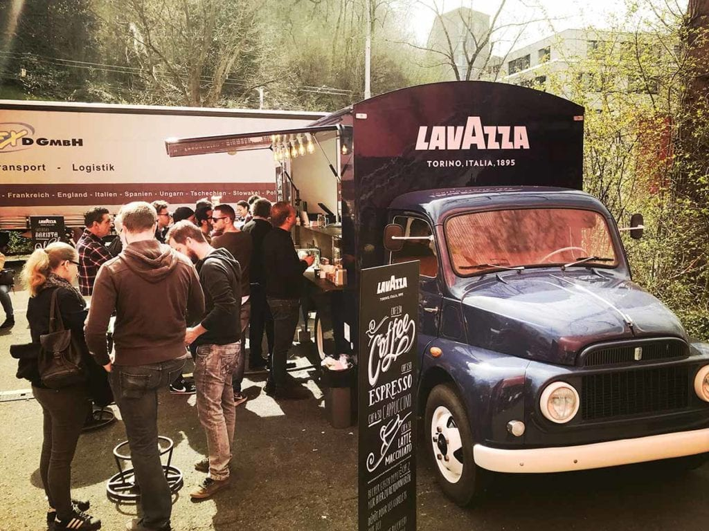 Lavazza-Promotion-Streetfood-Foodtruck