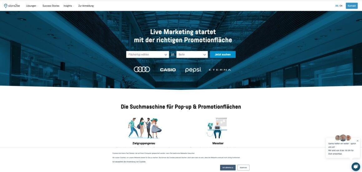 store2be vermittlung promotion pos schweiz