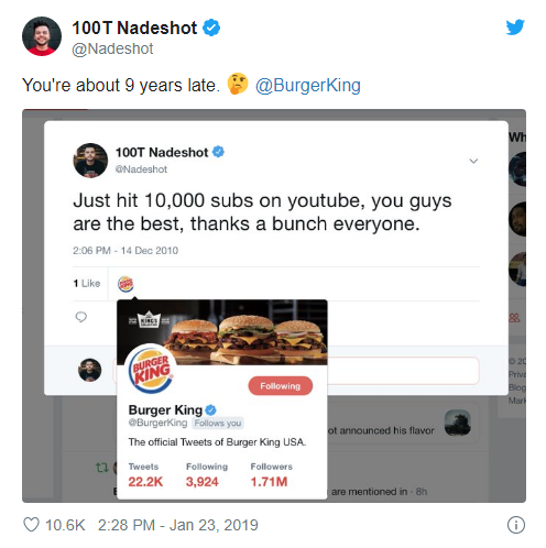 guerilla marketing twitter burger king 1