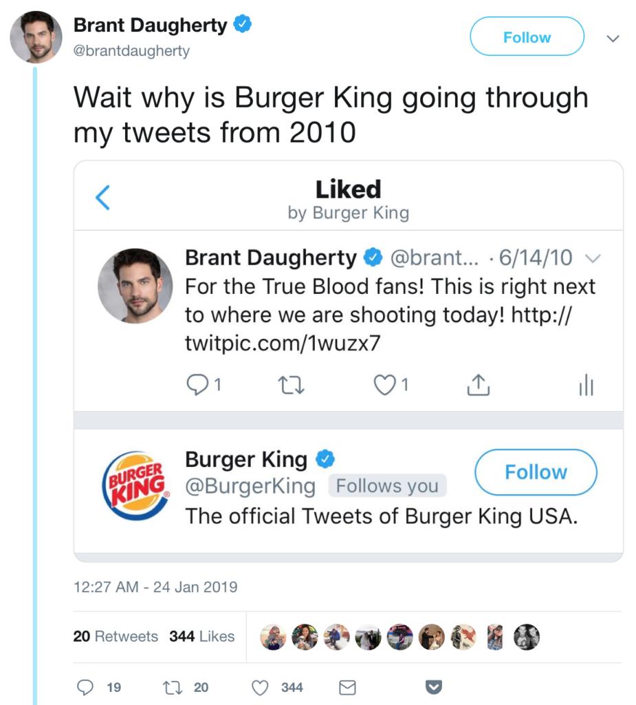 guerilla marketing twitter burger king